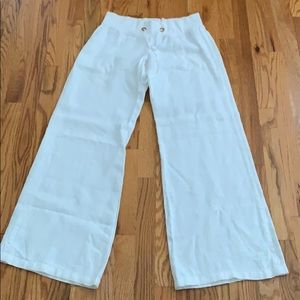LILLY PULITZER Linen Pants- small